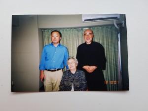 Тадао и Чийоко Ямагучи и Хякутен Инамото